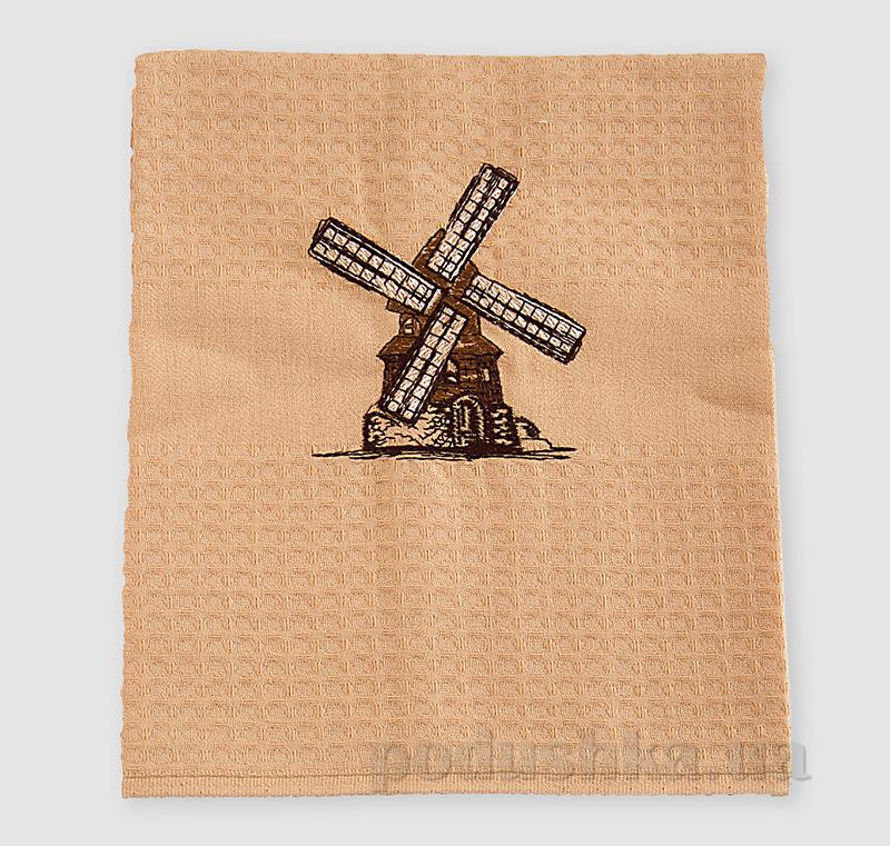Полотенце кухонное сувенирное Ярослав р 4575 диз 1 бежевое
