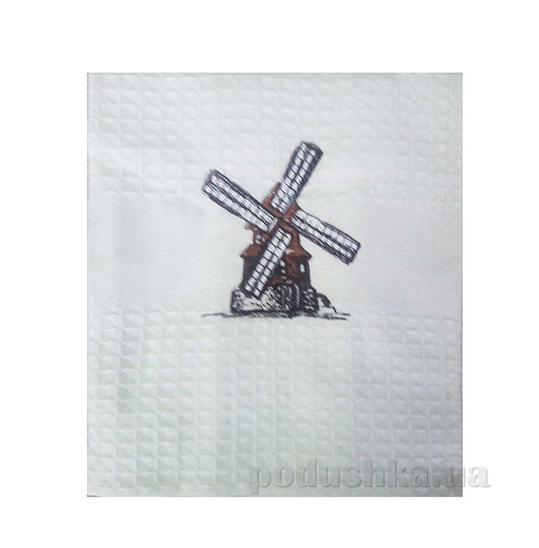Полотенце кухонное сувенирное Ярослав р 4575 диз 1 белое
