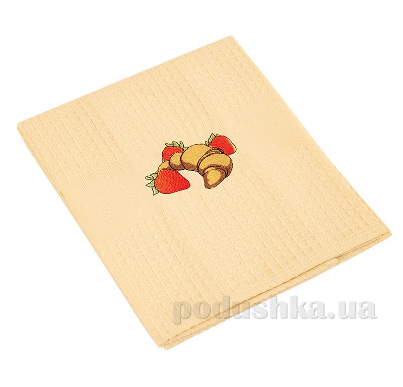 Полотенце кухонное вафельное Ярослав 20 Круасан