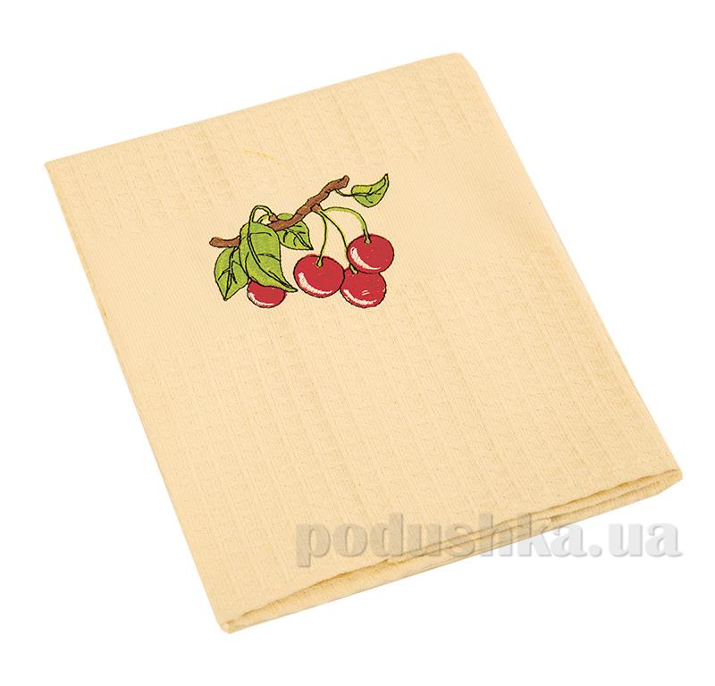 Полотенце кухонное вафельное Ярослав 21 Ветка вишни