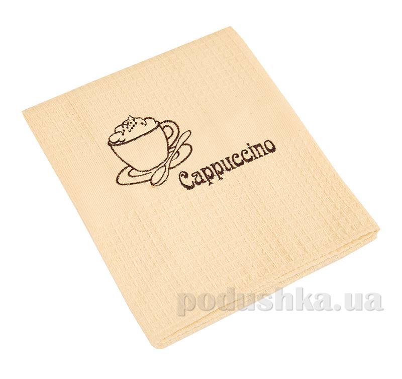 Полотенце кухонное вафельное Ярослав 24 Капучино