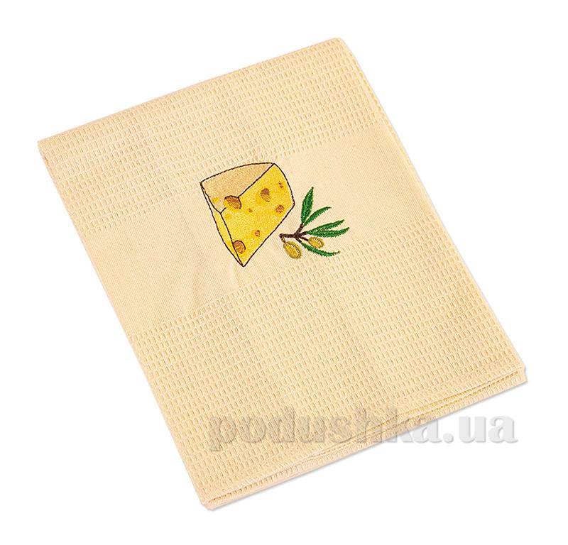 Полотенце кухонное вафельное Ярослав 9 Сыр