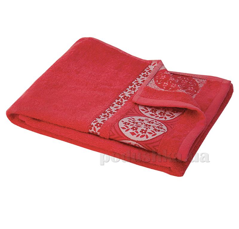 Полотенце махровое 101 Ярослав красное