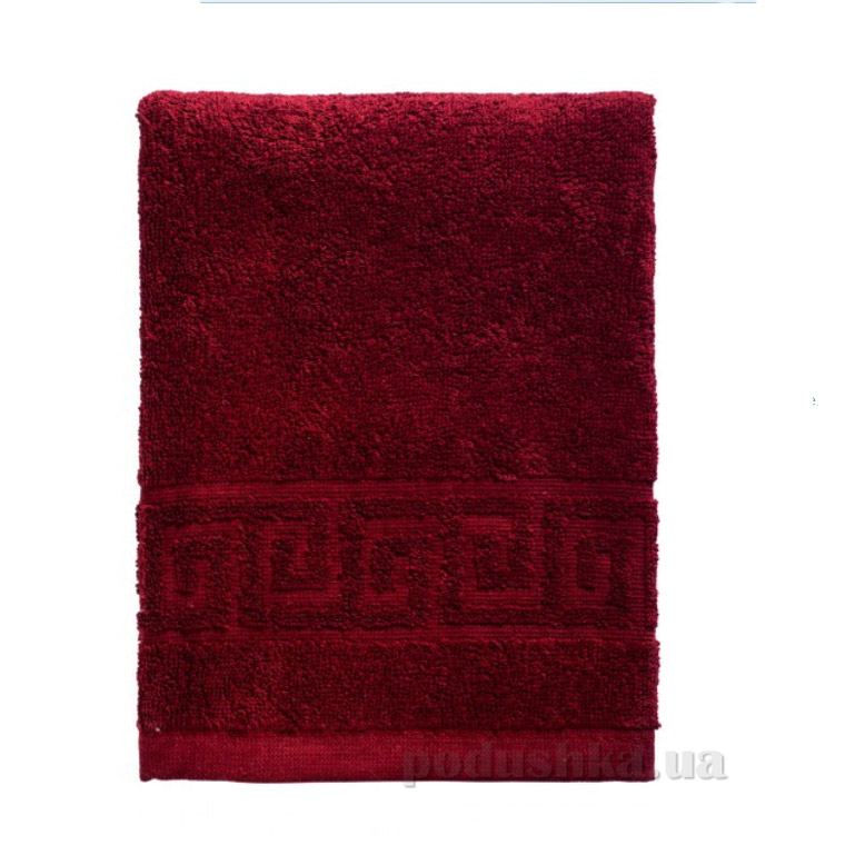 Полотенце махровое Asgabat Dokma Toplumy бордовый