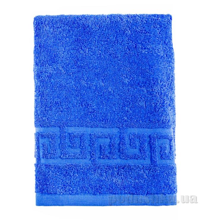 Полотенце махровое Asgabat Dokma Toplumy синий