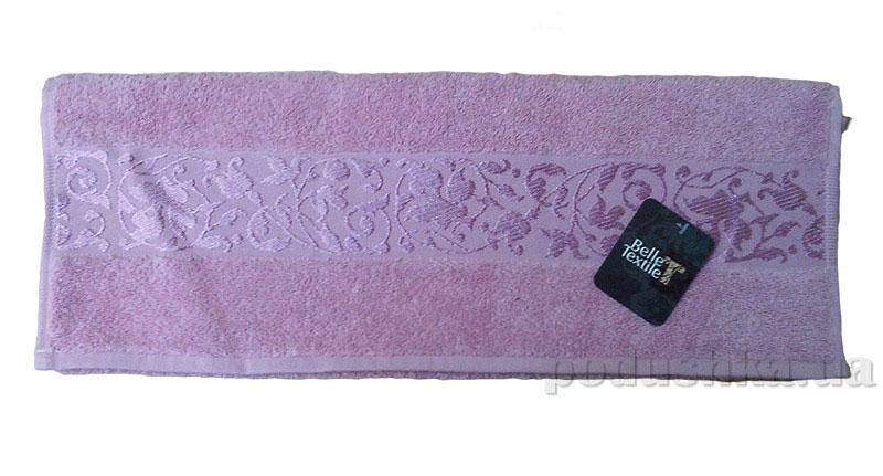 Полотенце махровое банное Belle-Textile Ivy темно-розовый