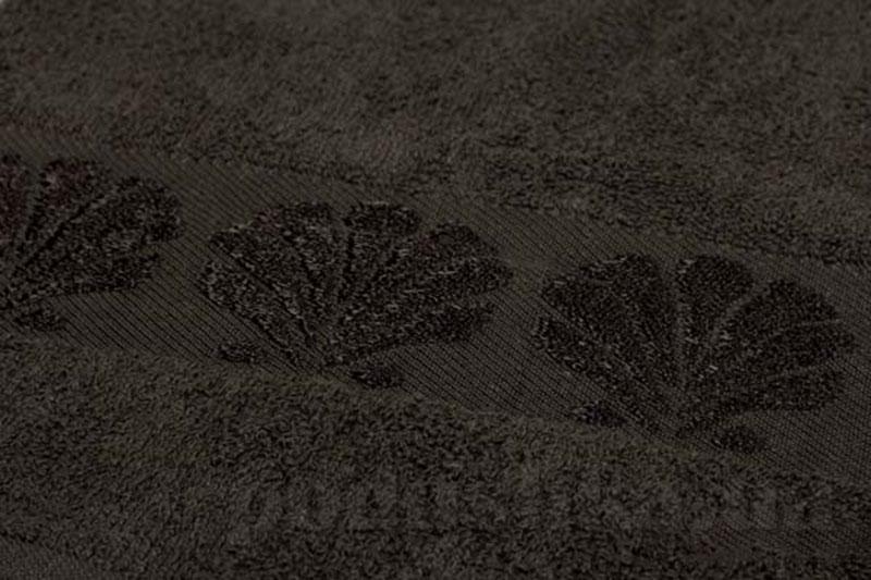 Полотенце махровое банное Belle-Textile Seashell коричневый