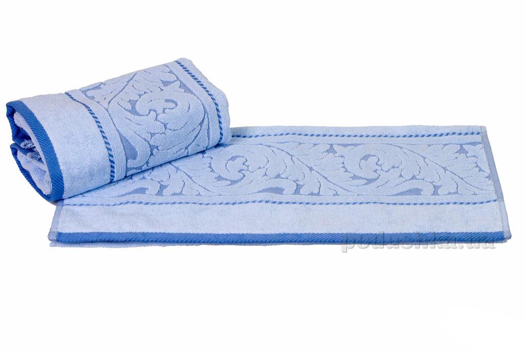 Полотенце махровое банное Hobby Sultan голубой