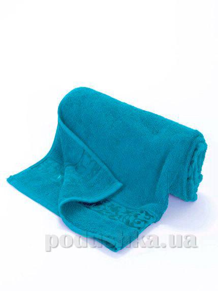 Полотенце махровое банное Maisonette Ivy бирюзовый