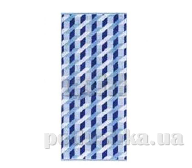 Полотенце махровое банное Maisonette Steps голубой