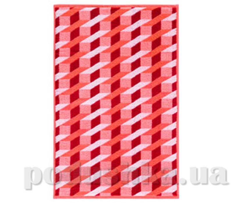 Полотенце махровое банное Maisonette Steps оранжевый
