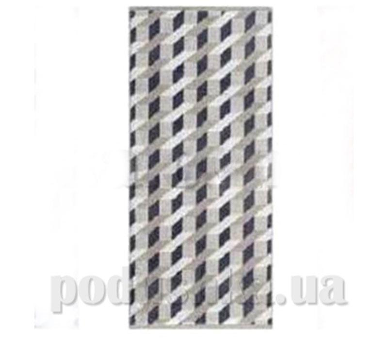 Полотенце махровое банное Maisonette Steps серый
