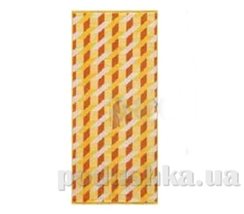 Полотенце махровое банное Maisonette Steps желтый
