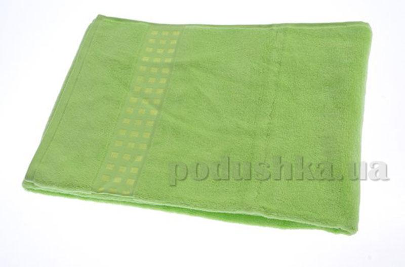 Полотенце махровое банное Maisonette Zero Twist зеленый