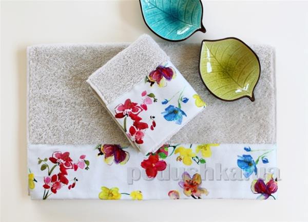 Полотенце махровое Barine Flower breeze
