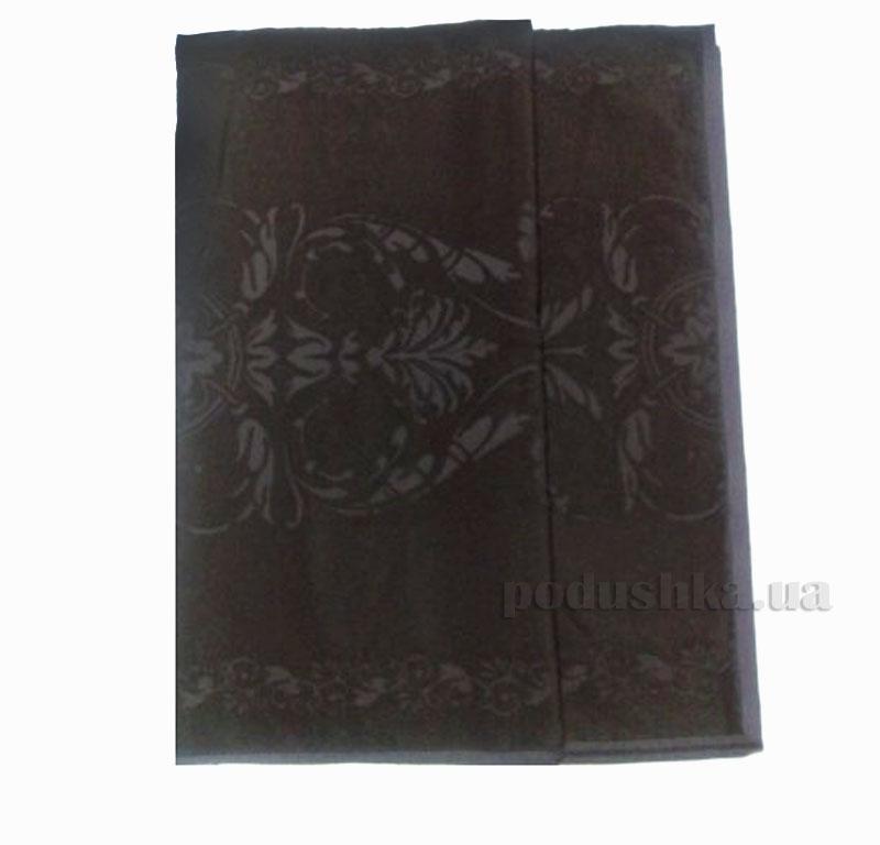 Полотенце махровое Барокко Речицкий текстиль коричневое