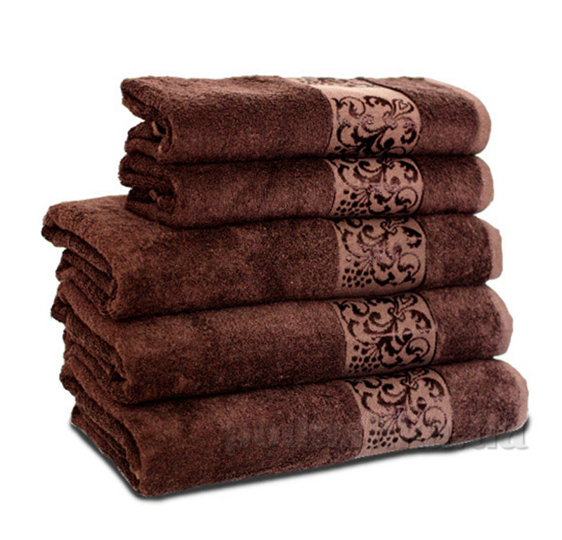 Полотенце махровое Бемби коричневое