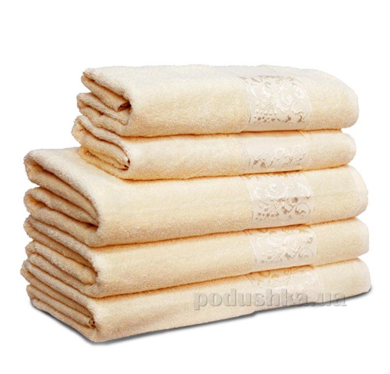 Полотенце махровое Бемби кремовое