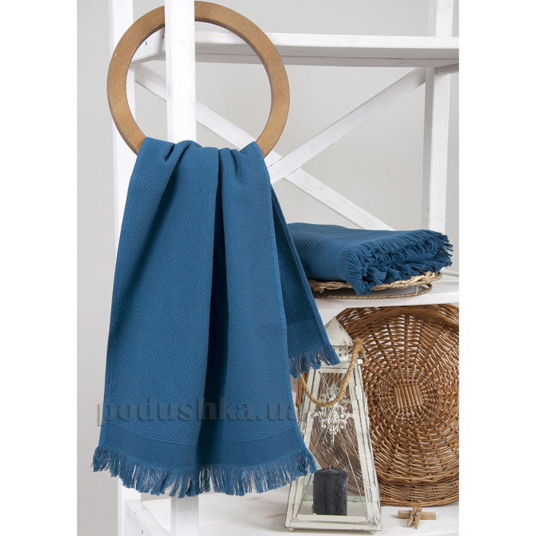 Полотенце махровое Buldans Siena Midniht blue