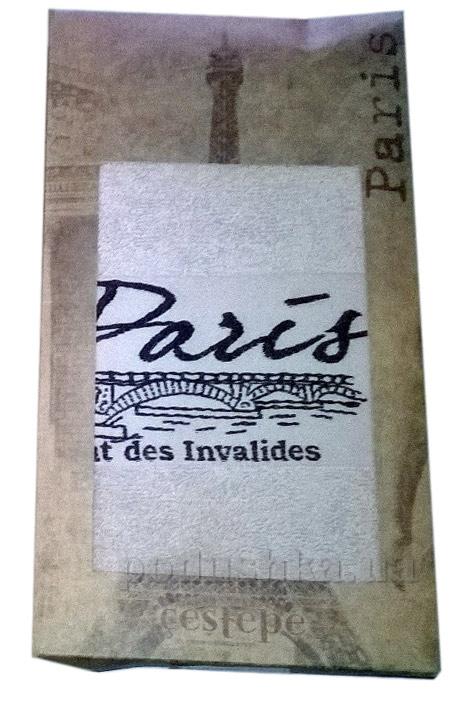 Полотенце махровое Cestepe Paris бежевое