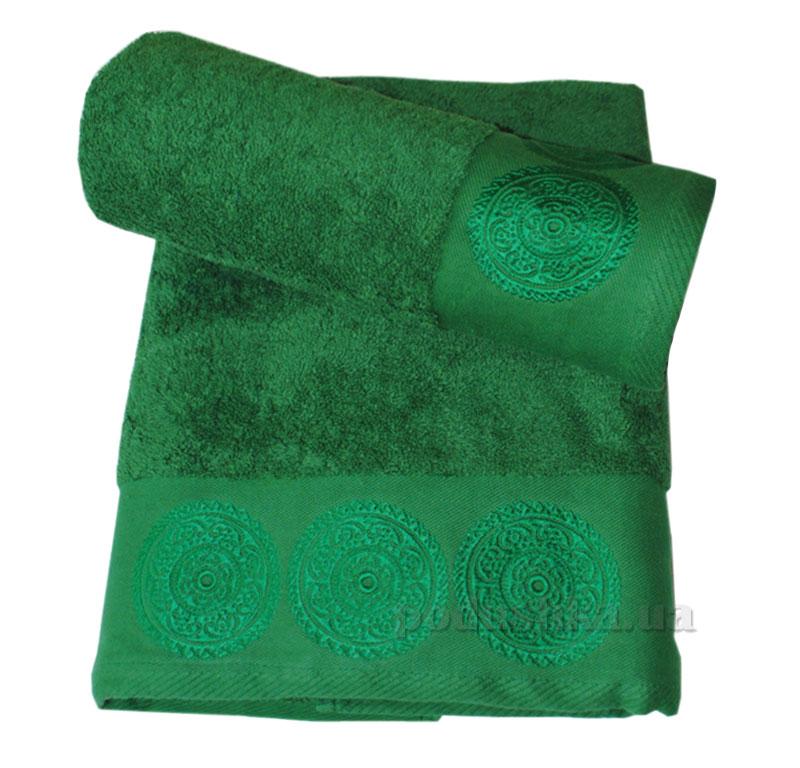 Полотенце махровое Damask Nostra зеленое