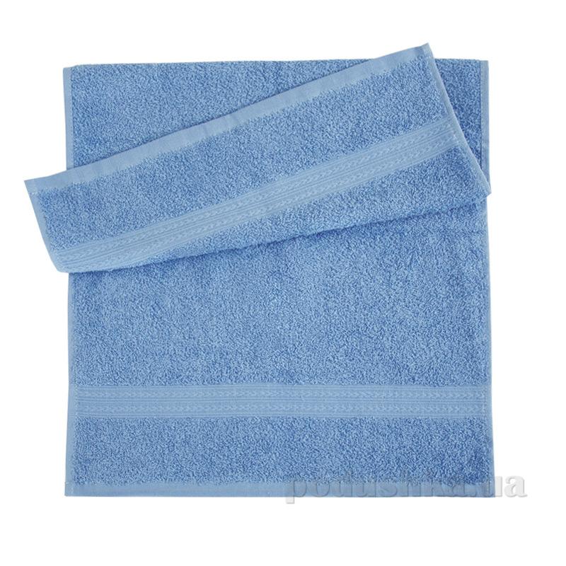 Полотенце махровое Эко Ярослав голубой трх