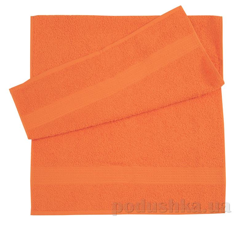 Полотенце махровое Эко Ярослав оранжевое