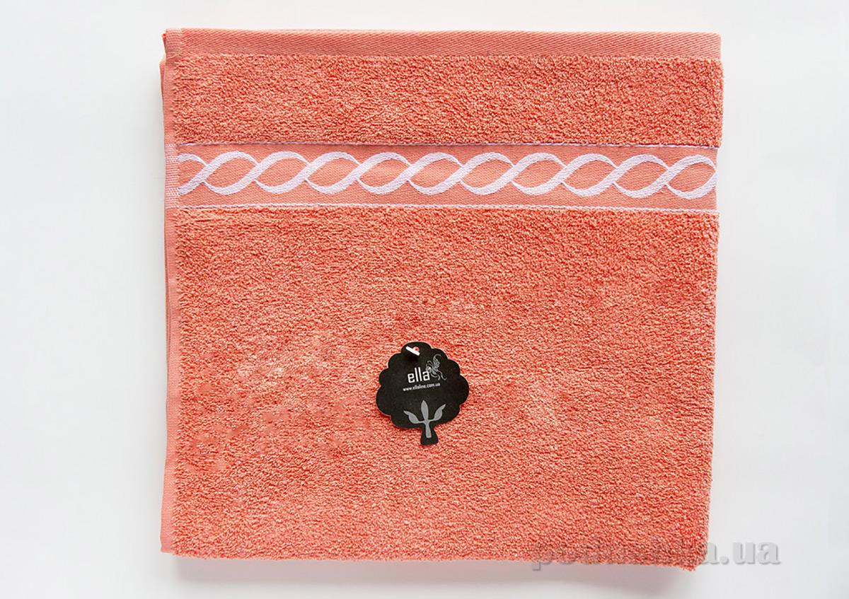 Полотенце махровое Ella Line Decor персиковое