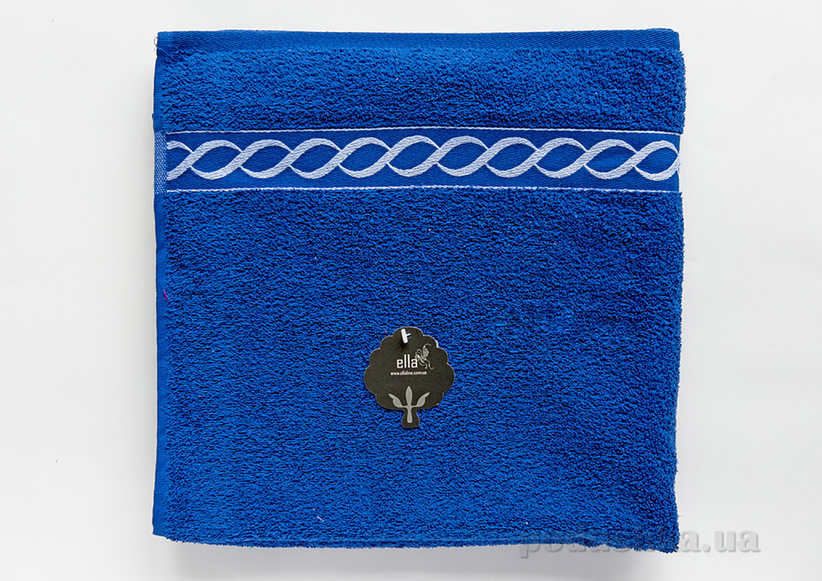 Полотенце махровое Ella Line Decor синее