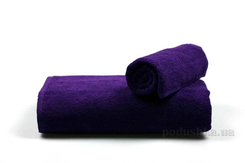 Полотенце махровое Гранд Мета фиолетовое