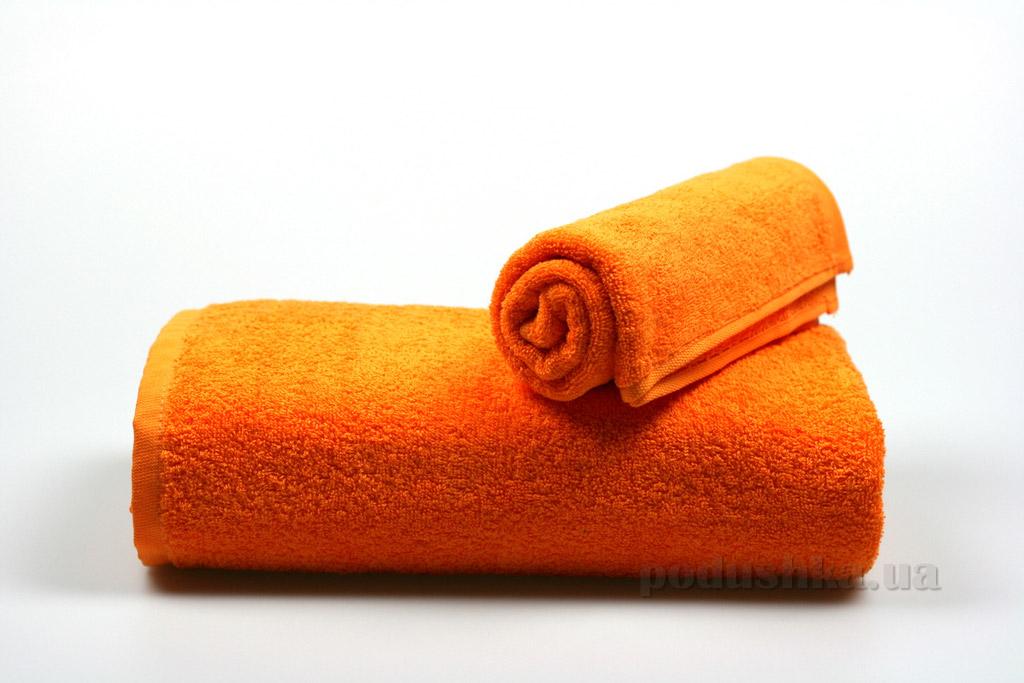 Полотенце махровое Гранд Мета мандариновое
