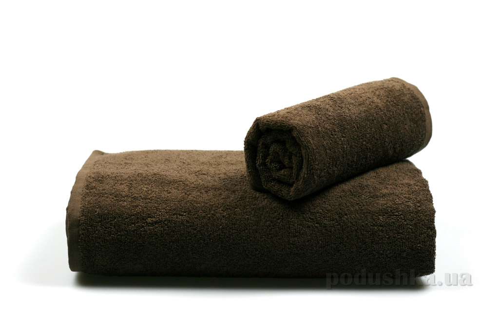 Полотенце махровое Гранд Мета тёмно-коричневое