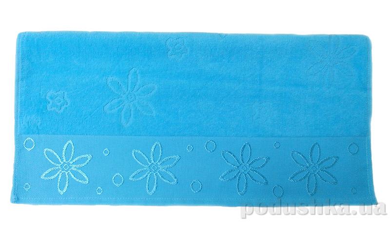 Полотенце махровое Hobby Bennu голубое