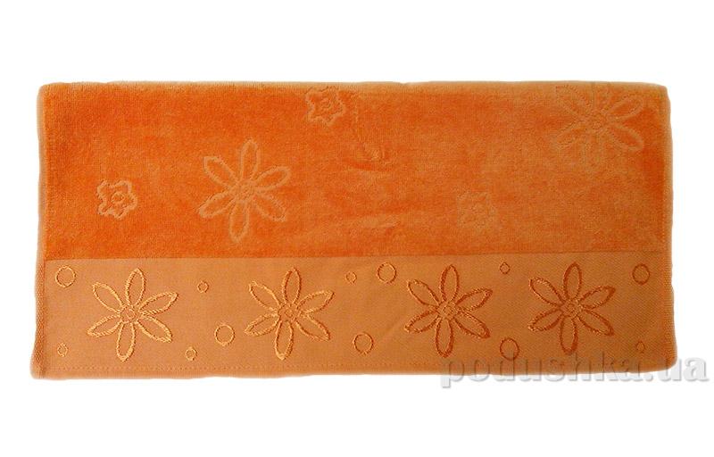 Полотенце махровое Hobby Bennu оранжевое