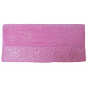 Полотенце махровое Hobby Bennu розовое