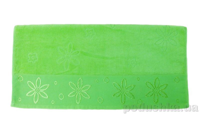 Полотенце махровое Hobby Bennu салатовое