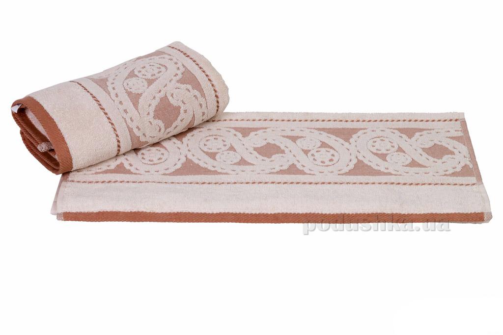 Полотенце махровое Hobby Hurrem кремовое