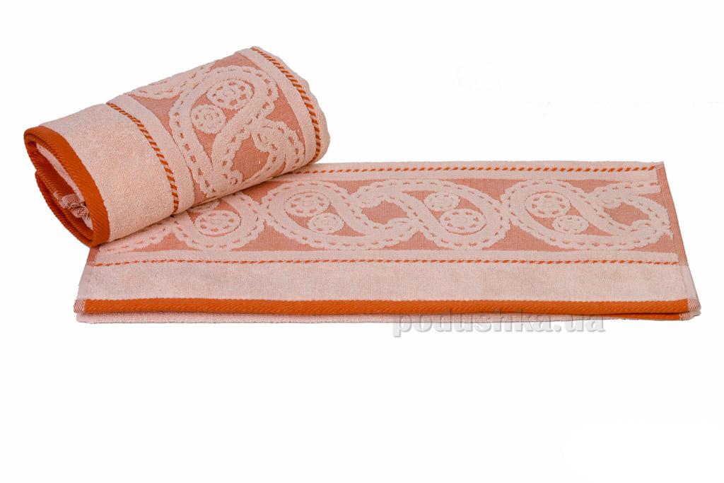Полотенце махровое Hobby Hurrem персиковое