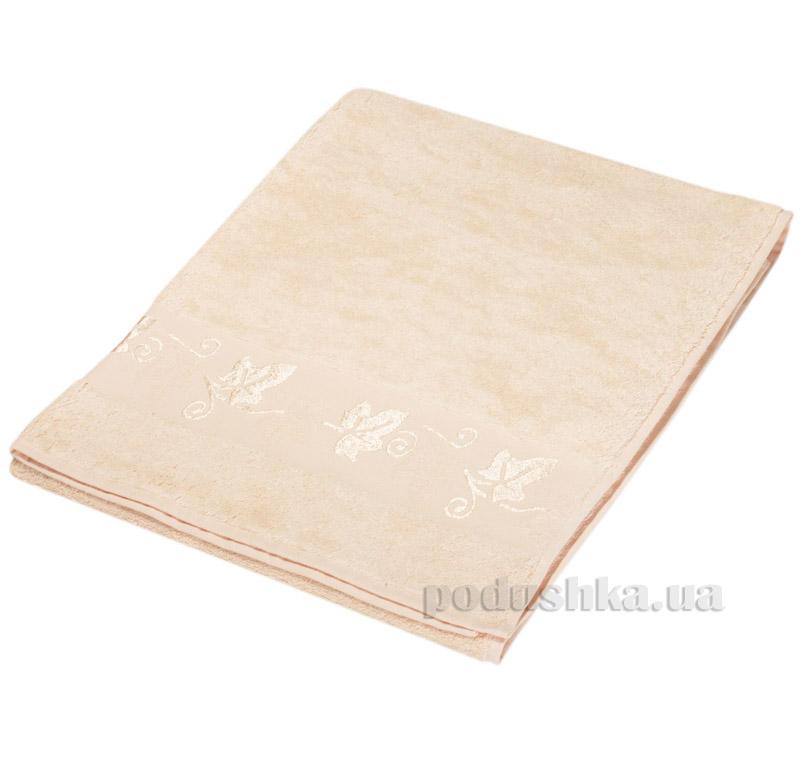 Полотенце махровое Hobby Merlo Bamboo персиковый