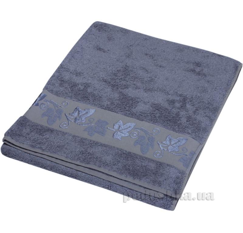Полотенце махровое Hobby Merlo Bamboo темно-серый