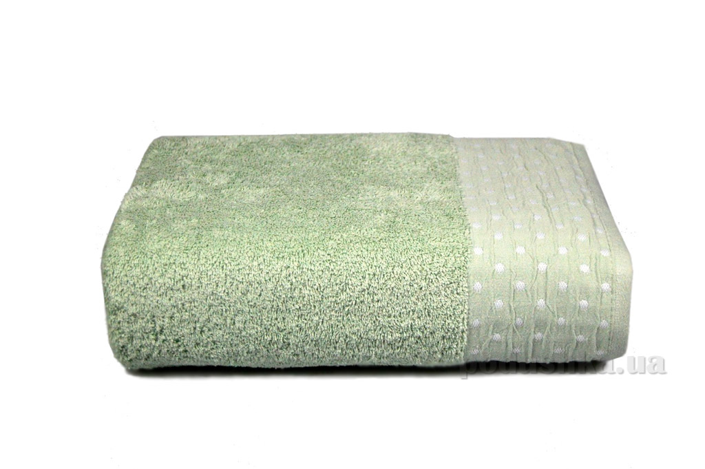 Полотенце махровое Home line Amber фисташковое