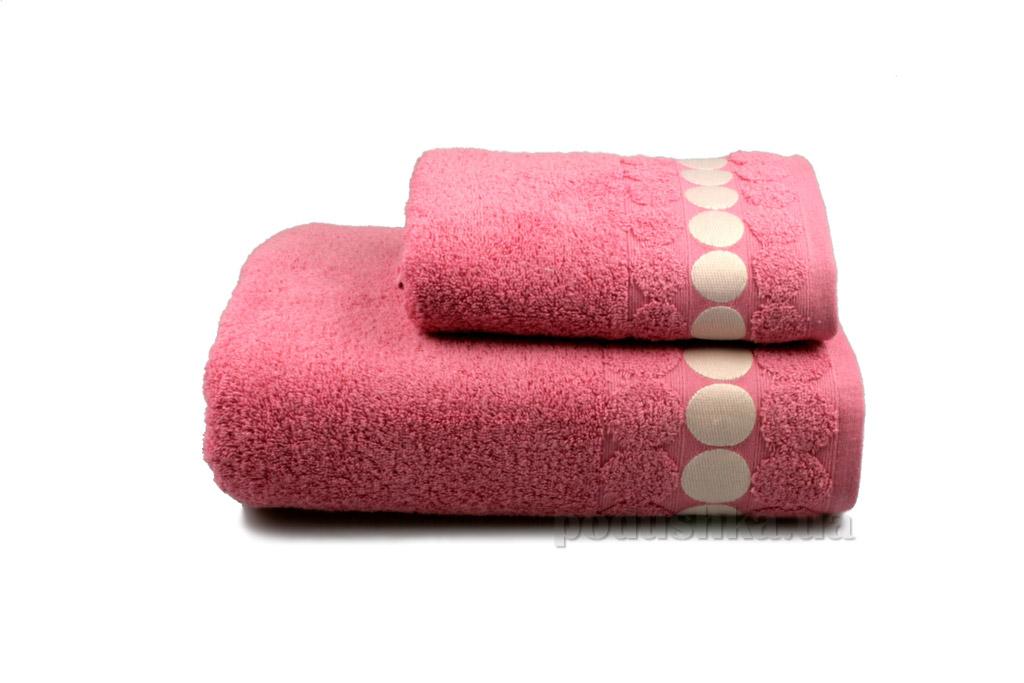 Полотенце махровое Home line Balls розовое