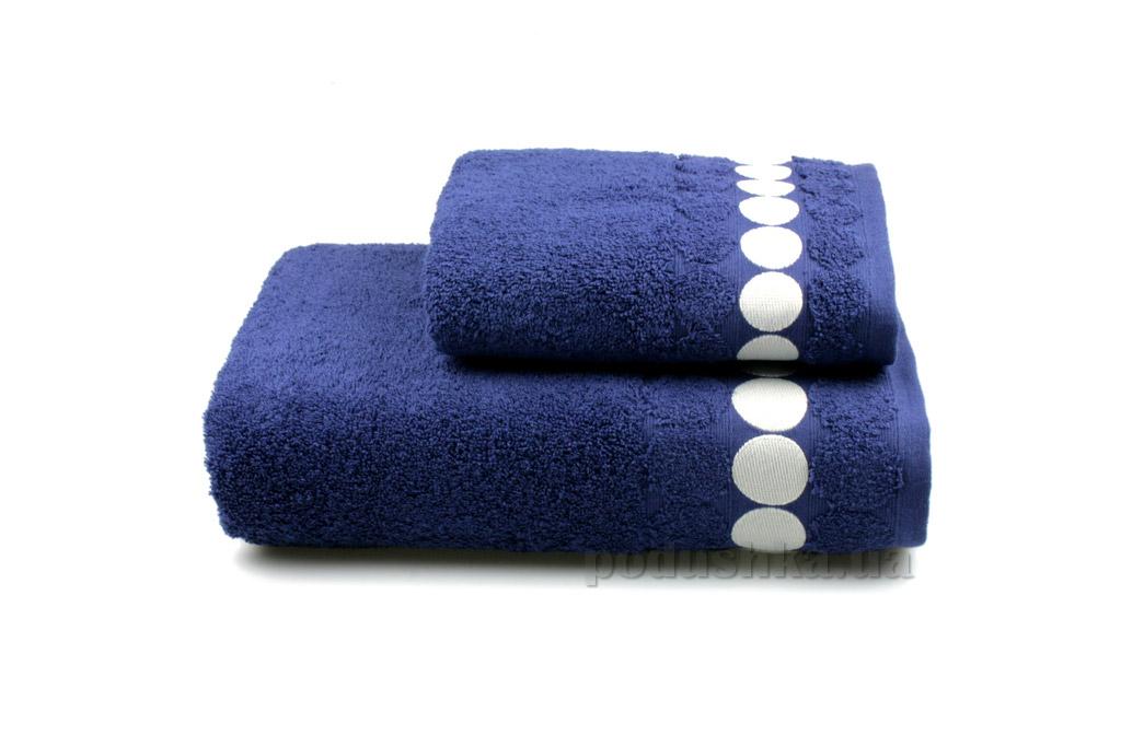 Полотенце махровое Home line Balls синее 50х90 см  Home line