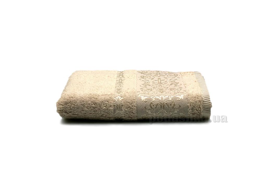 Полотенце махровое Home line Bamboo new бежевое