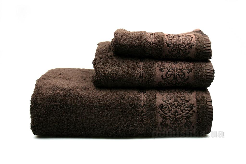 Полотенце махровое Home line Bamboo new коричневое 30х50 см  Home line