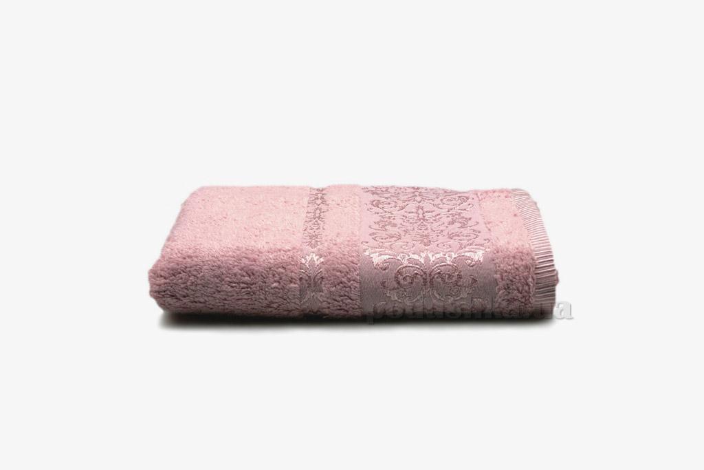 Полотенце махровое Home line Bamboo new розовое