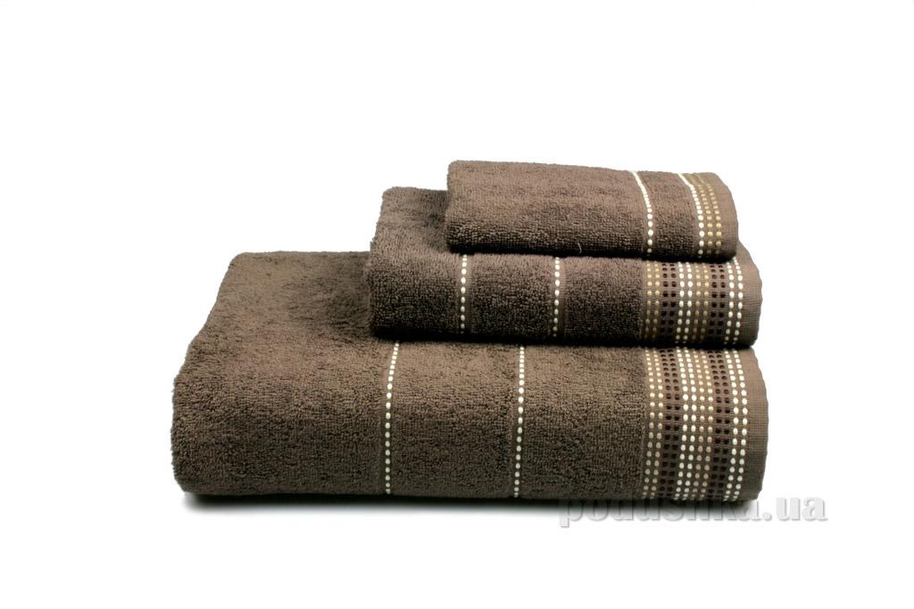 Полотенце махровое Home line Dream коричневое