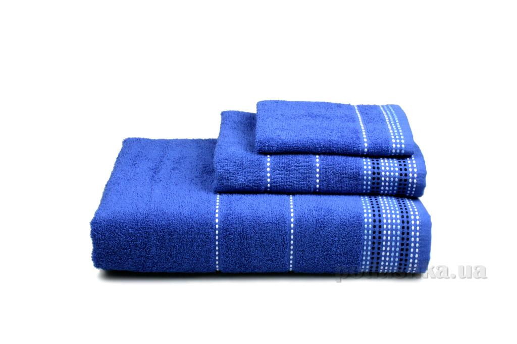Полотенце махровое Home line Dream тёмно-синее 30х50 см  Home line