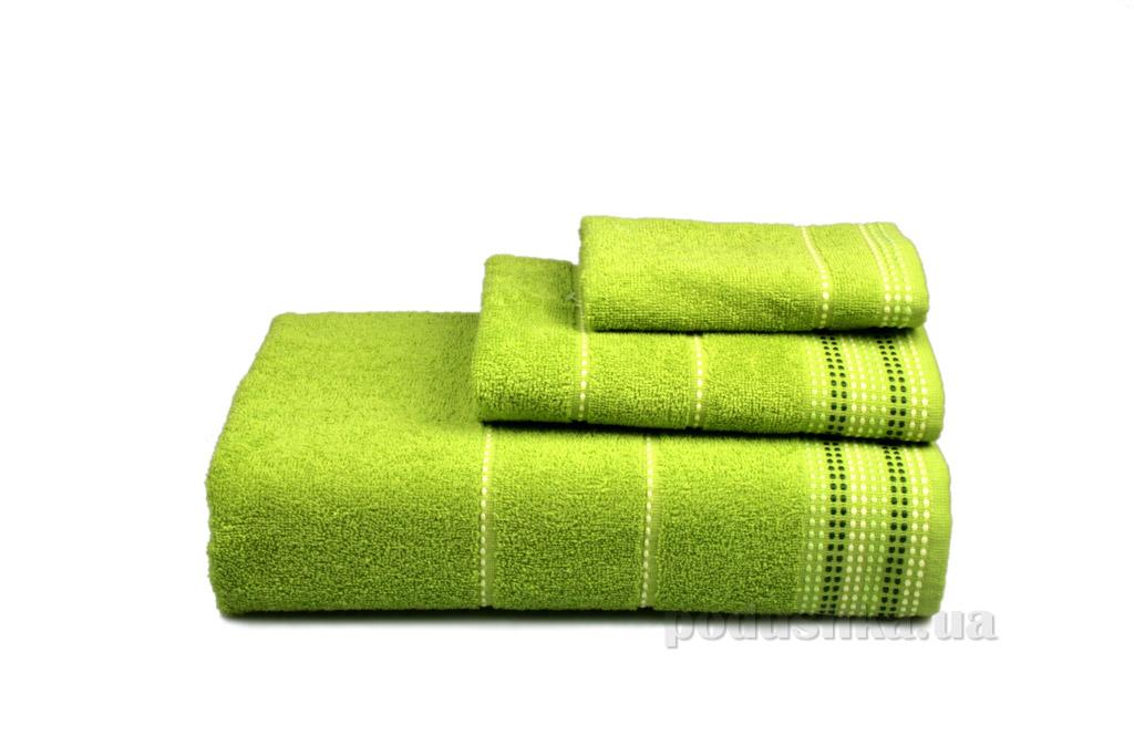 Полотенце махровое Home line Dream зелёное 70х140 см  Home line