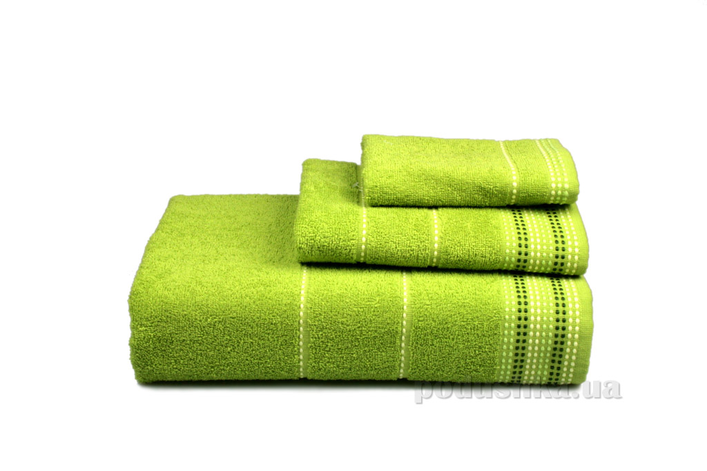 Полотенце махровое Home line Dream зелёное